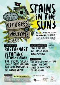 Stains in the Sun III 2015 Festival