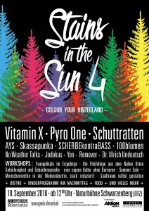 Stains in the Sun IV Plakat