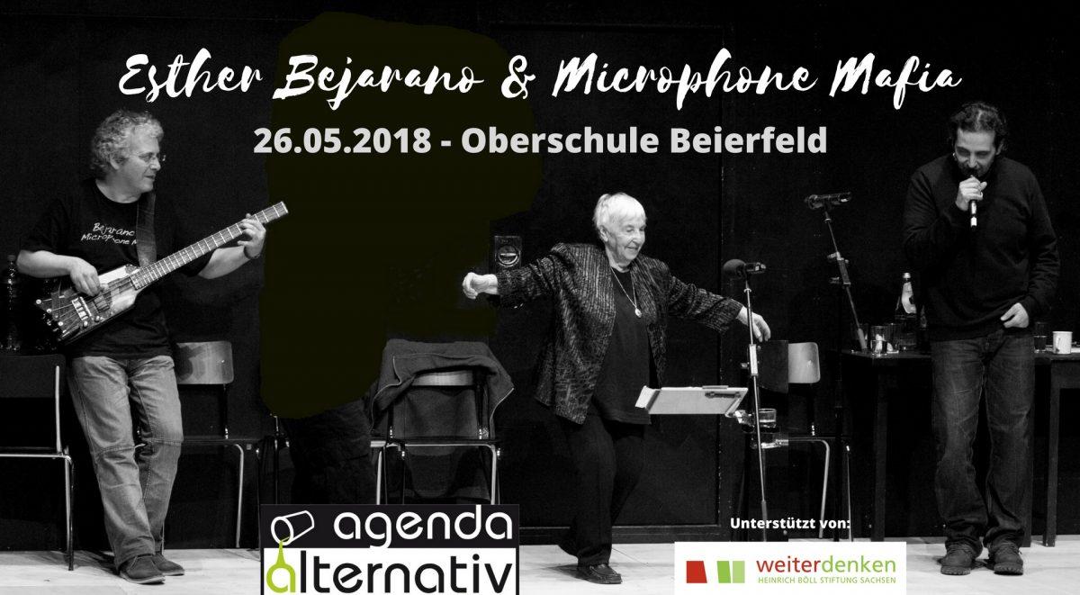 Esther Bejarano & die Microphone Mafia in Beierfeld